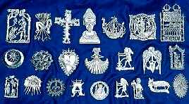 Pilgrim Badges.